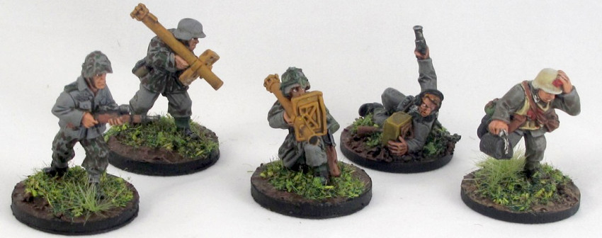 28mm German WWII miniatures review